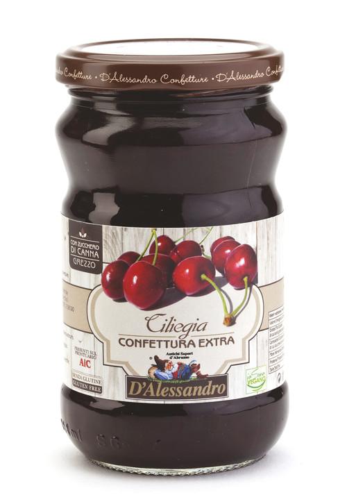 Конфитюр экстра из вишни 360 г, Confettura extra di Ciliegie, D'Alessandro confetture 360 gr