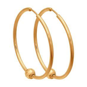 Серьги конго из золота 140113 SOKOLOV