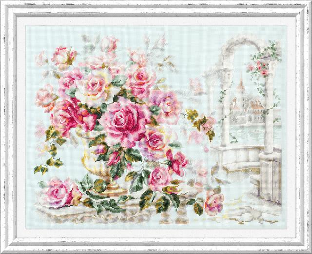 Набор для вышивания ЧУДЕСНАЯ ИГЛА Розы для герцогини (110-011)