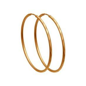 Серьги конго из золота с алмазной гранью 140063 SOKOLOV
