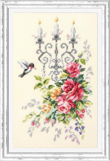 Набор для вышивания ЧУДЕСНАЯ ИГЛА Торжественный этюд (100-202)