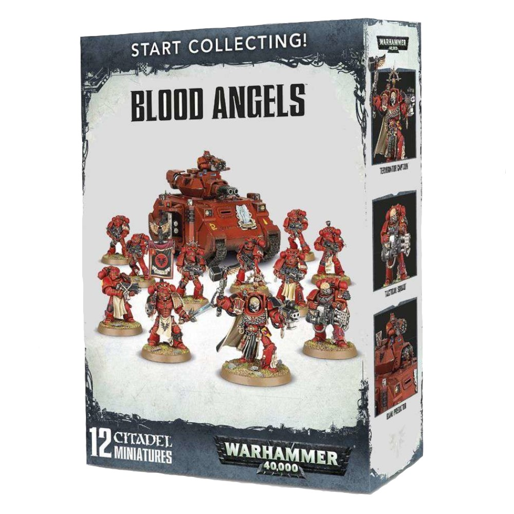 Миниатюры Warhammer 40000: Start Collecting! Blood Angels