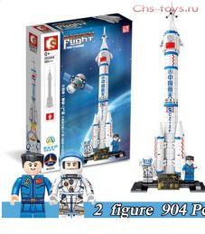 Конструктор SEMBO BLOCK Космическая ракета  203304 904 дет