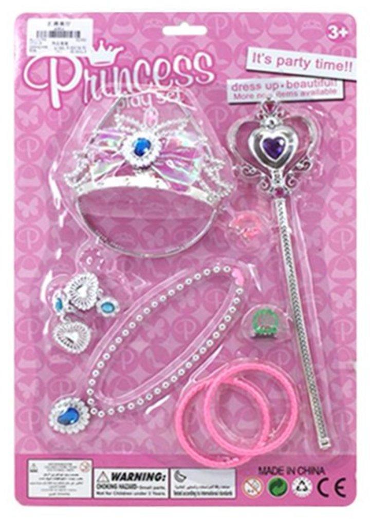 Набор украшений Принцесса, 9 предметов, блистер