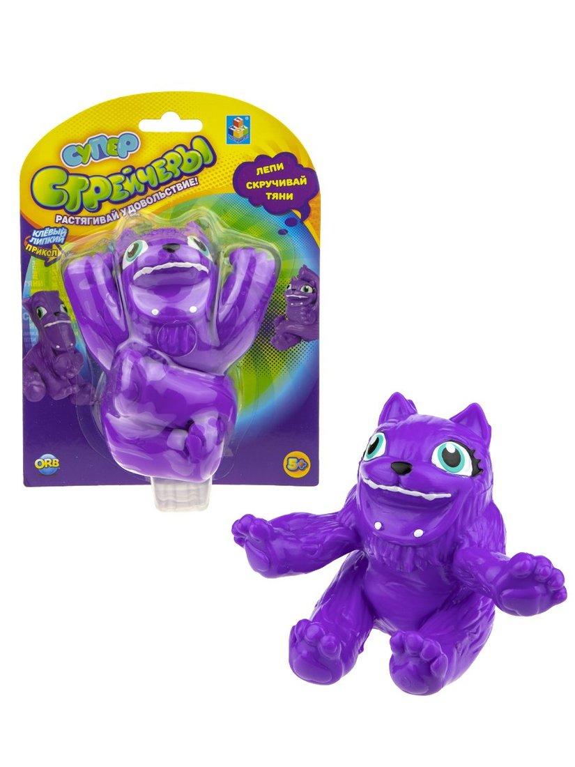 Супер Стрейчеры Тянихвост, 11см, фиолетовый