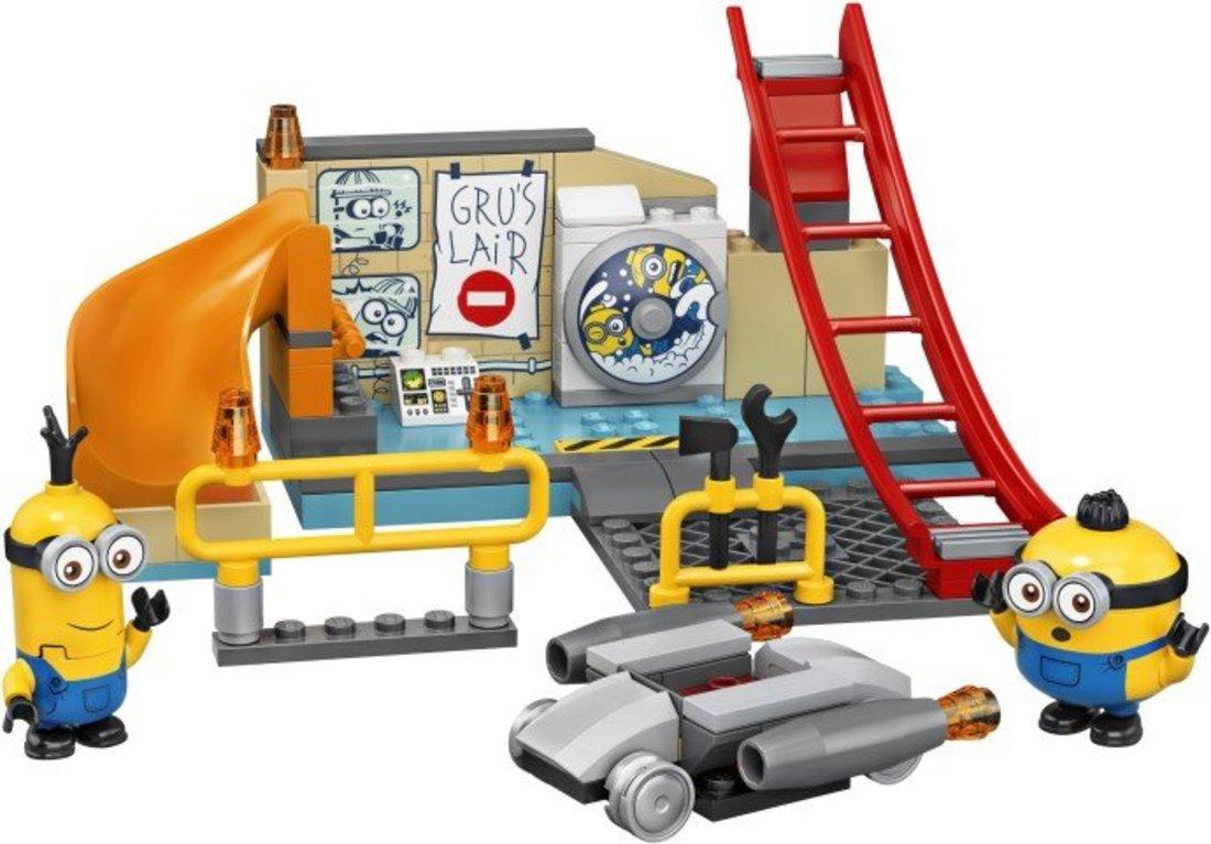 Констр-р LEGO Minions Миньоны в лаборатории Грю