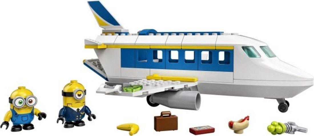 Констр-р LEGO Minions Миньоны: тренировочный полет