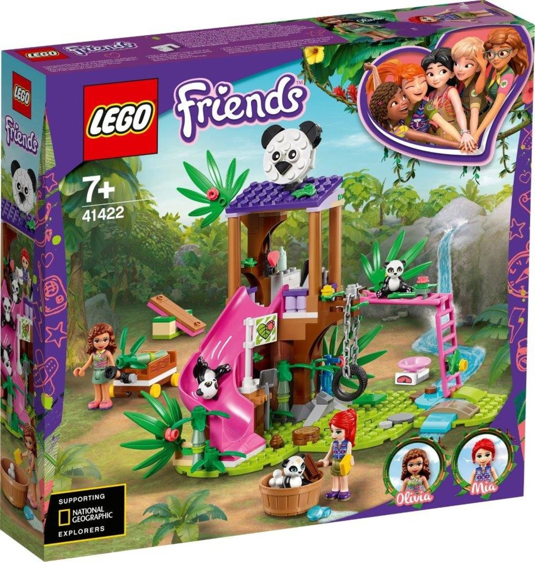 Констр-р LEGO Friends Джунгли: домик для панд на дереве
