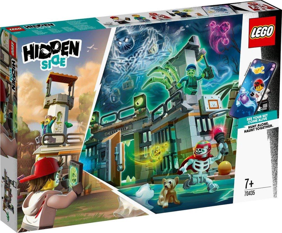 Констр-р LEGO Hidden Side Заброшенная тюрьма Ньюберри