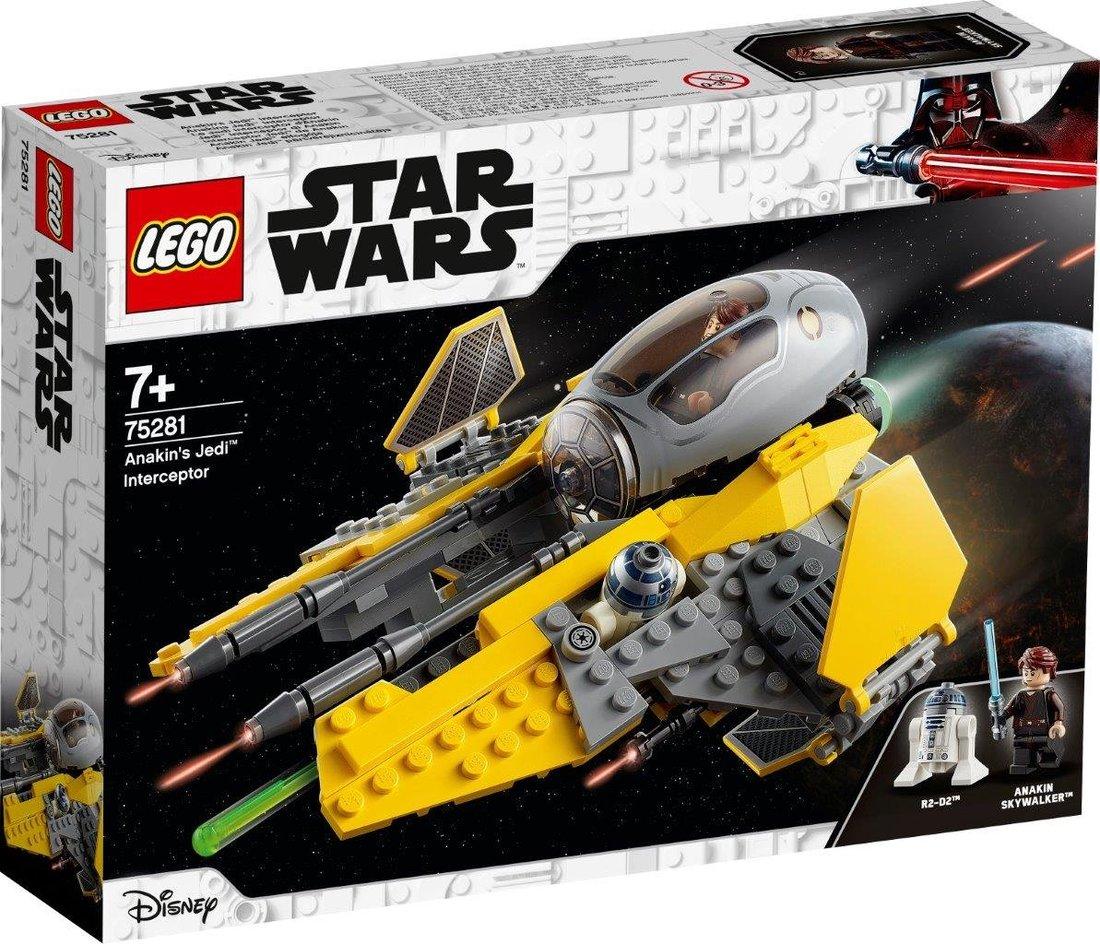 Констр-р LEGO Star Wars TM Джедайский перехватчик Энакина