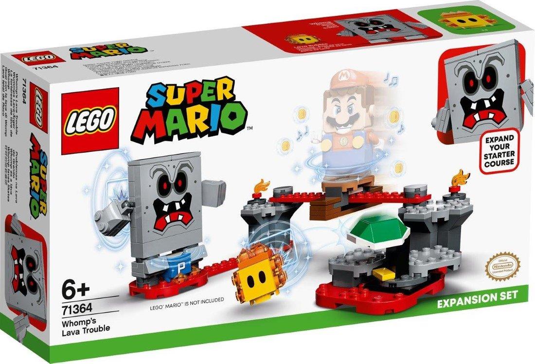 Констр-р LEGO Super Mario Неприятности в крепости Вомпа. Дополнительный набор