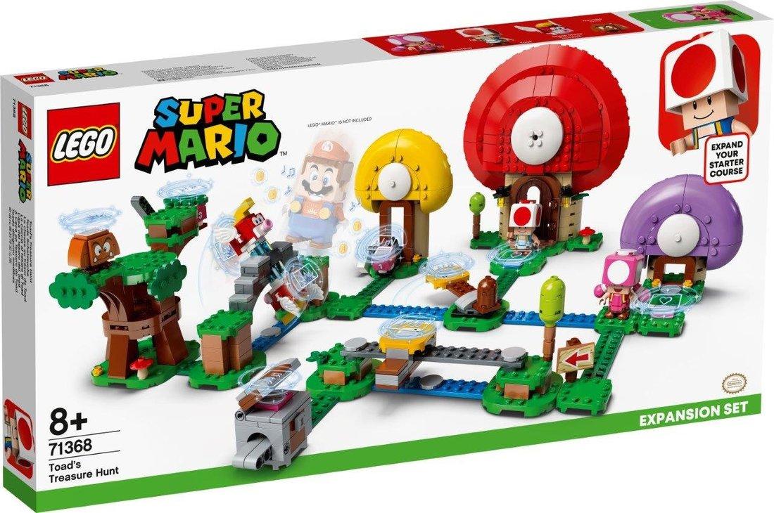 Констр-р LEGO Super Mario Погоня за сокровищами Тоада. Дополнительный набор