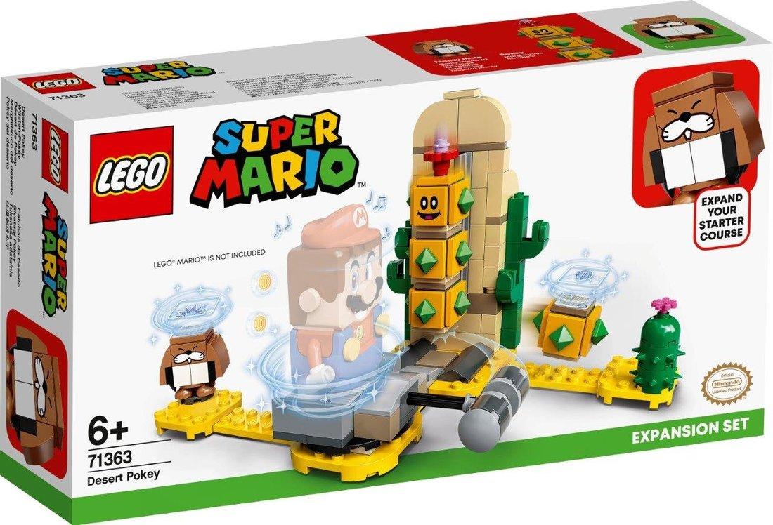 Констр-р LEGO Super Mario Поки из пустыни. Дополнительный набор