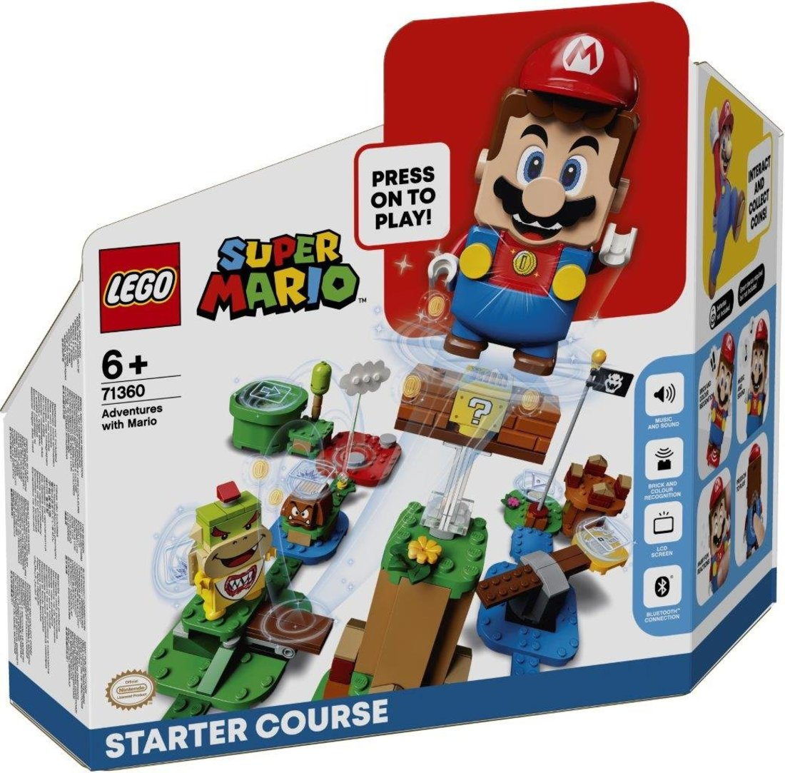 Констр-р LEGO Super Mario Приключения вместе с Марио. Стартовый набор