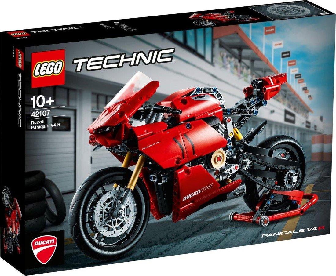 Констр-р LEGO Technic Ducati Panigale V4 R