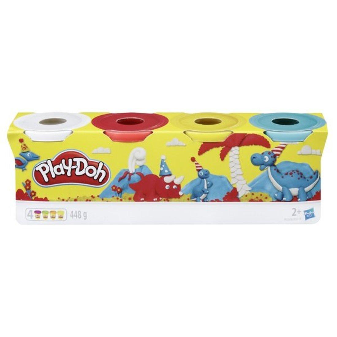 Игр. набор Play-Doh масса д.лепки 4 бан. в ассор.