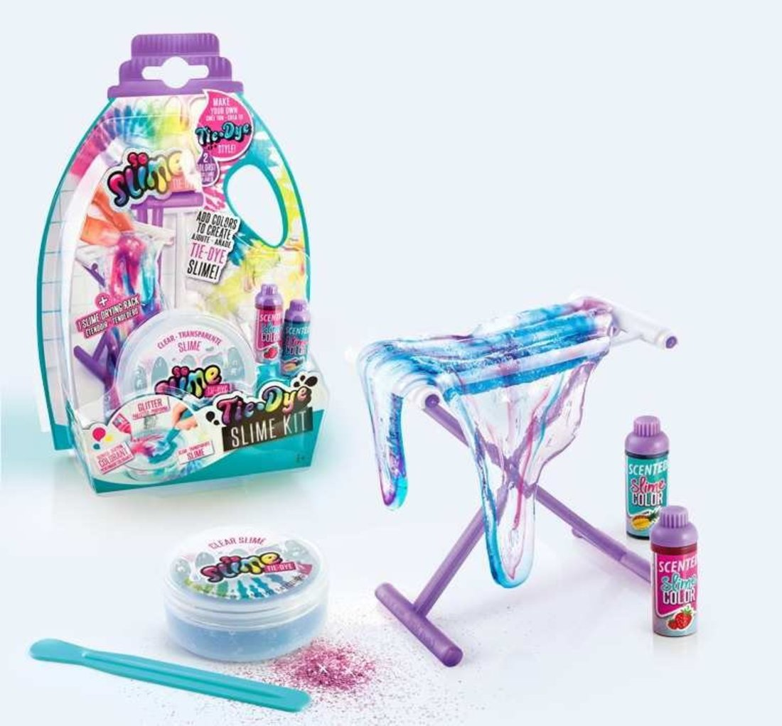 Набор для изготовления многоцветного слайма серии Tie-Dye, в ассорт.