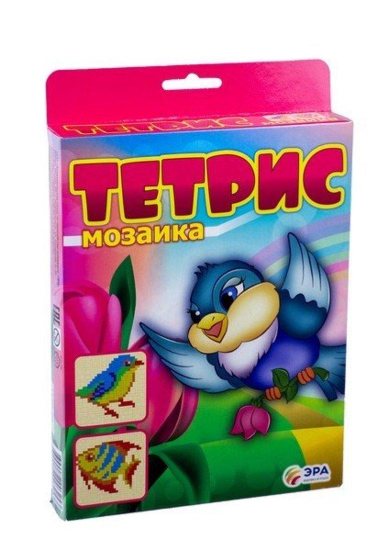 """Тетрис-мозаика """"Птичка и рыбка"""""""