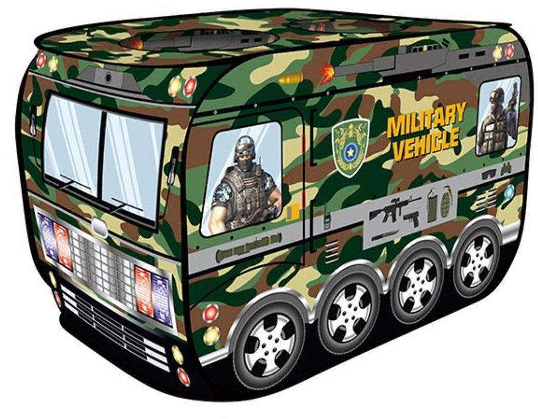 Палатка игровая Военная 83*76*42 см, кор.