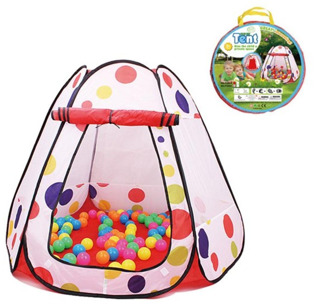 Палатка игровая Лето 120*120*90 см, сумка на молнии