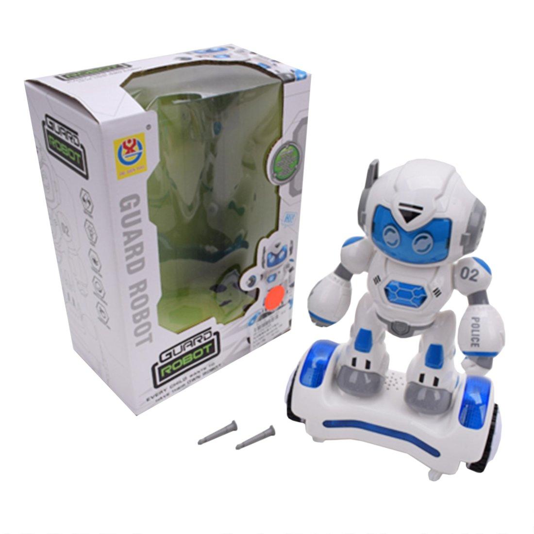 Робот эл., свет, звук, в комплекте: стрелы 2шт., эл.пит.АА*3шт.не вх.в комплект, коробка
