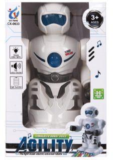 Робот эл., свет, звук, эл.пит.AA*3шт. не вх.в комплект