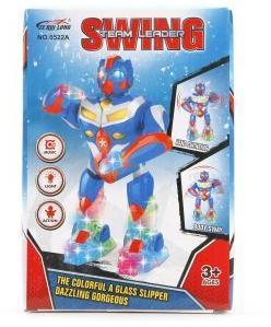Робот эл., Танцующий, 23 см, свет, звук, эл.пит.АА*3шт.не вх.в комплект