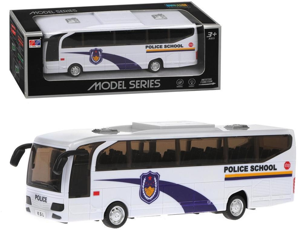 Автобус инерционный, свет, звук, эл.пит.AA*2шт.не вх.в комплект, коробка