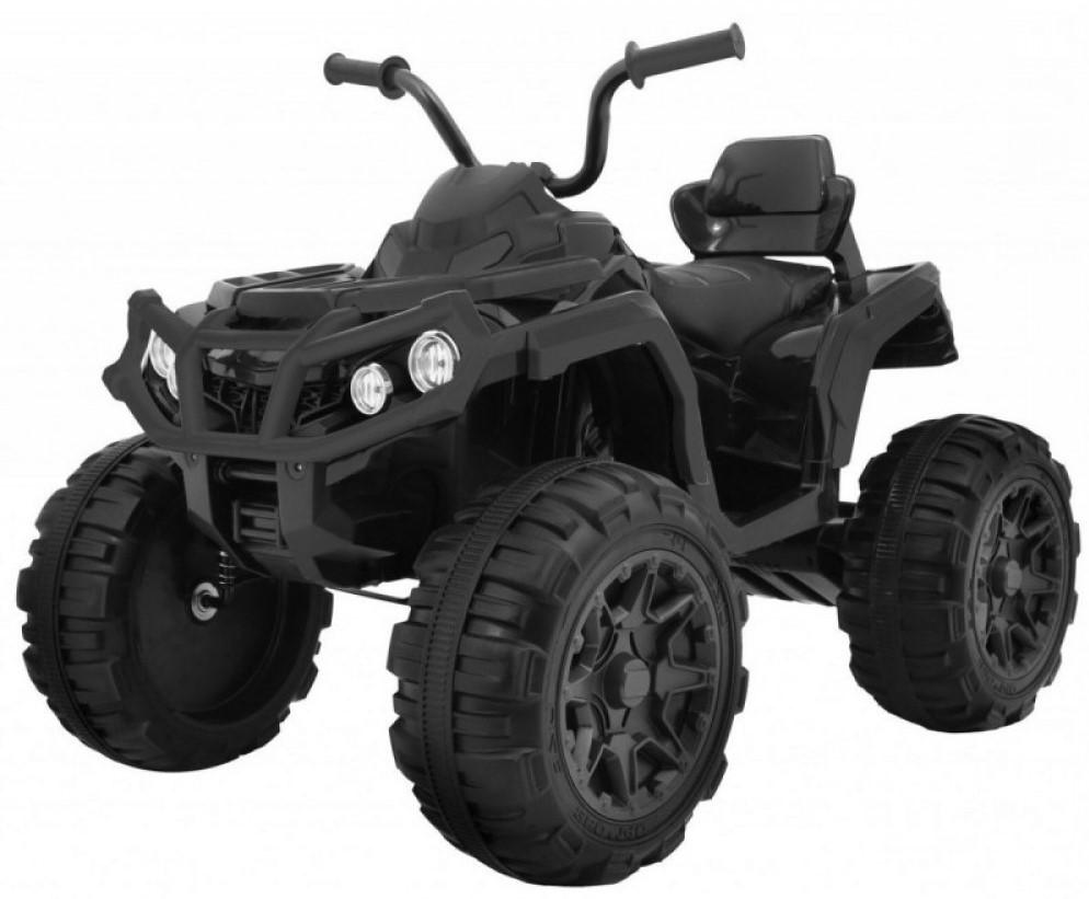 Детский электромобиль (2020) S602 (12V, EVA, экокожа) Черный