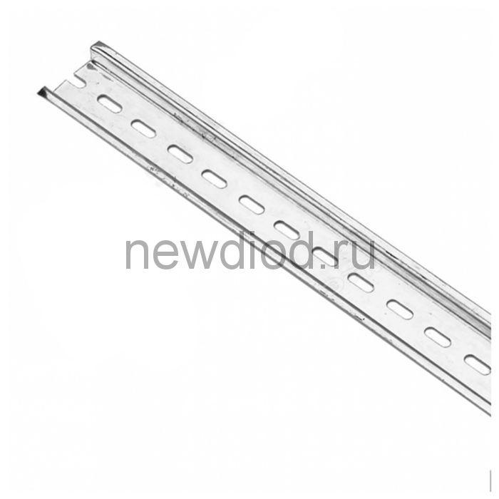 DIN-рейка оцинкованная сталь 60 см ДН-101 DEKraft