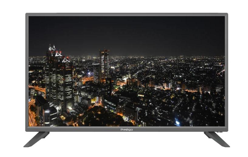 Телевизор PRESTIGIO PTV32SS04Z-T2-SMART Серебро