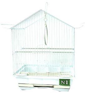 Клетка №1  для птиц пагода укомплектованная 30х23х39см