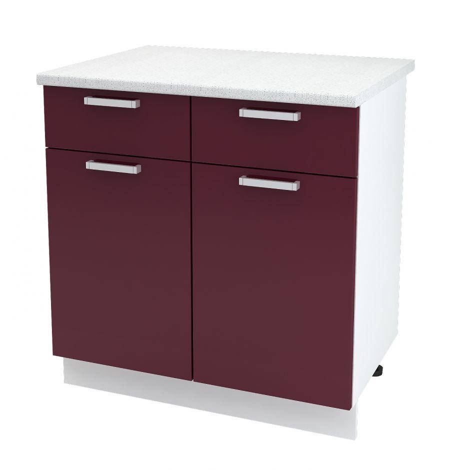 Шкаф нижний с 2 ящиками Дина ШН1Я 800