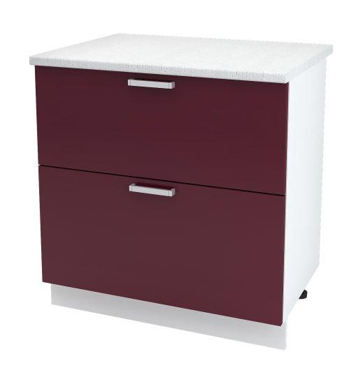 Шкаф нижний с 2 ящиками Дина ШН2Я 800