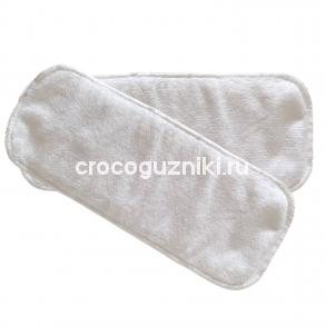 """Впитывающий вкладыш из толстой микрофибры 3 слоя """"Crocoguzniki"""""""