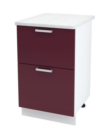 Шкаф нижний с 2 ящиками Дина ШН2Я 500