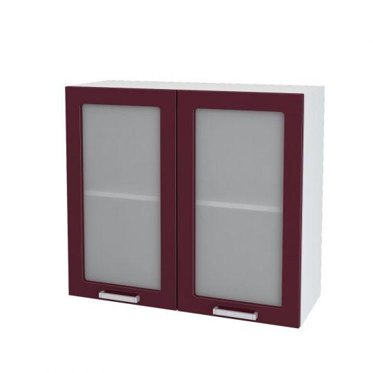 Шкаф верхний со стеклом Дина ШВС 800