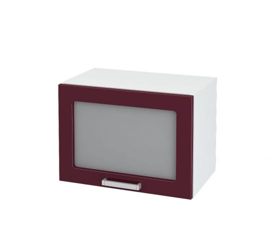 Шкаф горизонтальный со стеклом Дина ШВГС 500