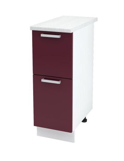 Шкаф нижний с 2 ящиками Дина ШН2Я 300