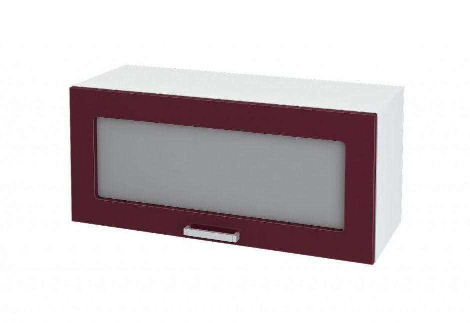 Шкаф горизонтальный со стеклом Дина ШВГС 800