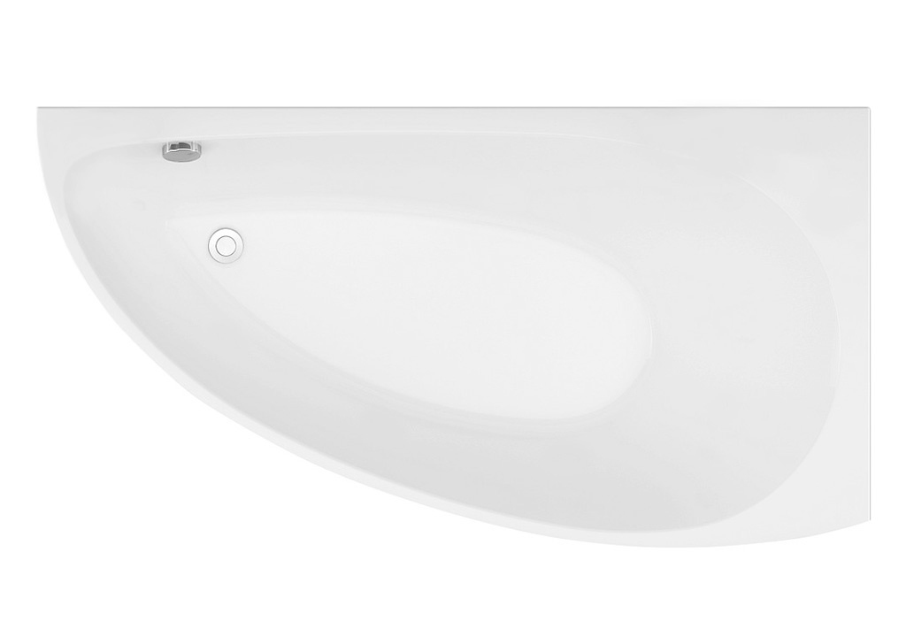 Акриловая ванна Aquanet AUGUSTA 170*90 R