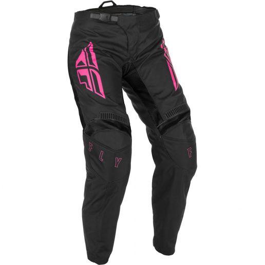 Fly Racing 2021 Women's F-16 Black/Pink штаны женские