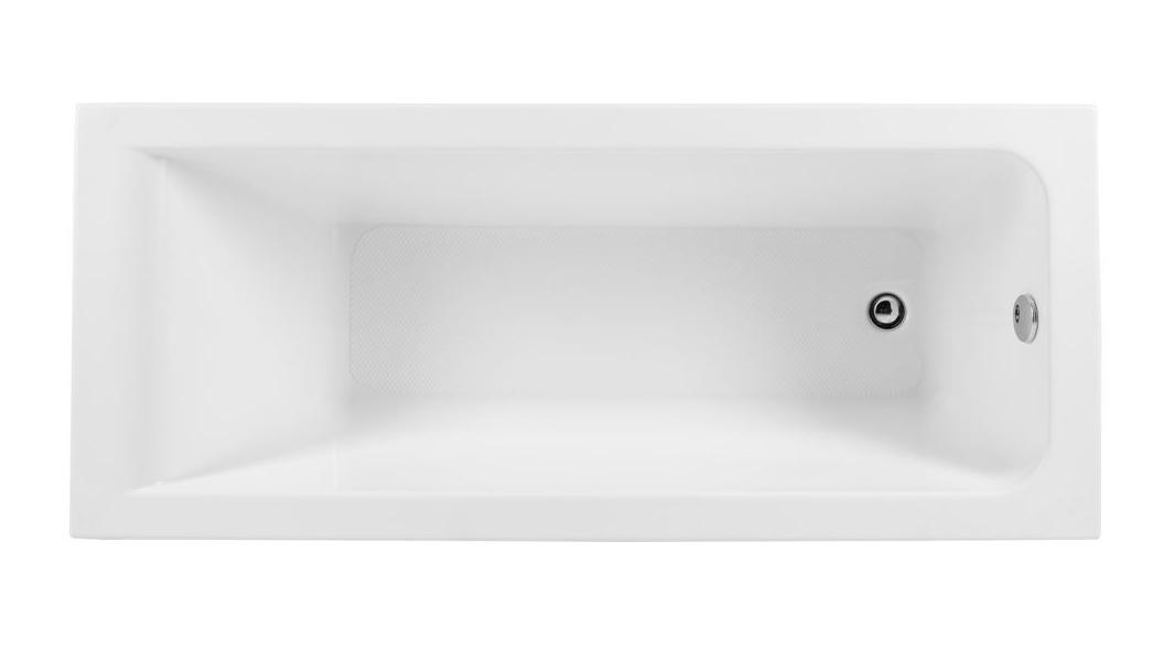 Акриловая ванна Aquanet BRIGHT 155*70 R