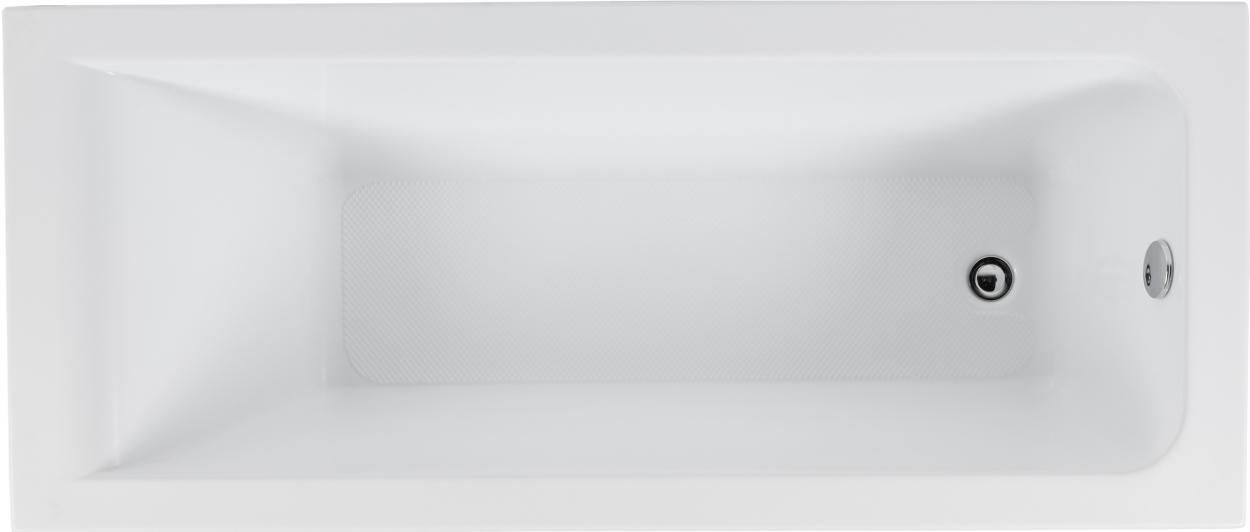 Акриловая ванна Aquanet BRIGHT 165*70
