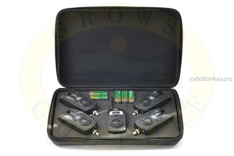 Комплект сигнализаторов Grows Culture с пейджером 4+1, тип 2 (Артикул: 3080)