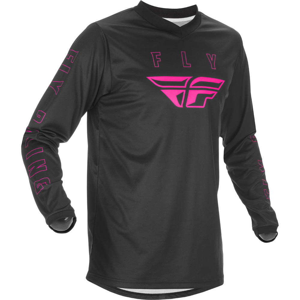 Fly Racing 2021 F-16 Black/Pink джерси
