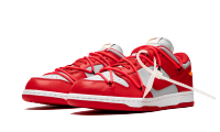 Кроссовки Nike Dunk Low Off-White University Red