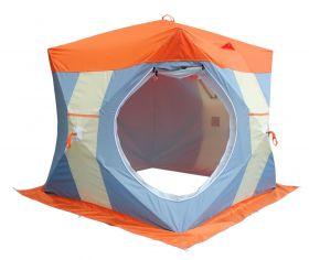 Зимняя палатка Митек Нельма Куб 2 Люкс с внутренним тентом