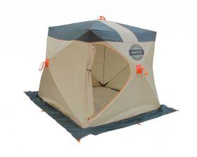 Зимняя палатка Митек Омуль Куб 1 хаки/беж