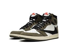Кроссовки Jordan 1 Retro High Travis Scott
